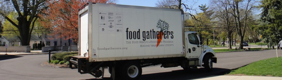 Food Gatherers Truck Image